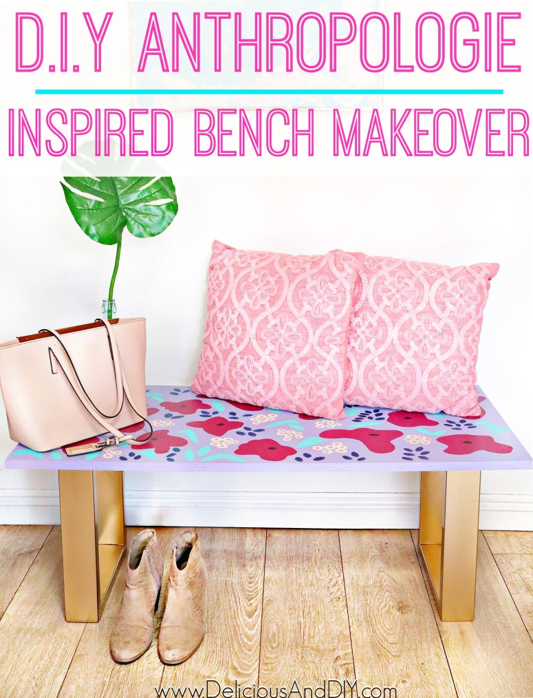 diy bench for patio decor