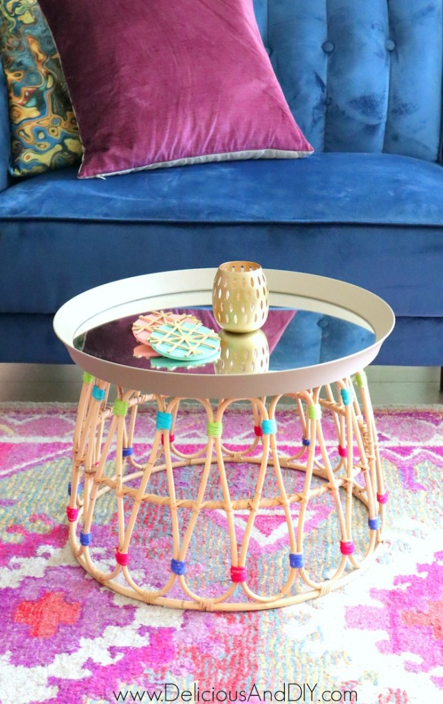 gorgeous ikea coffee table DIY