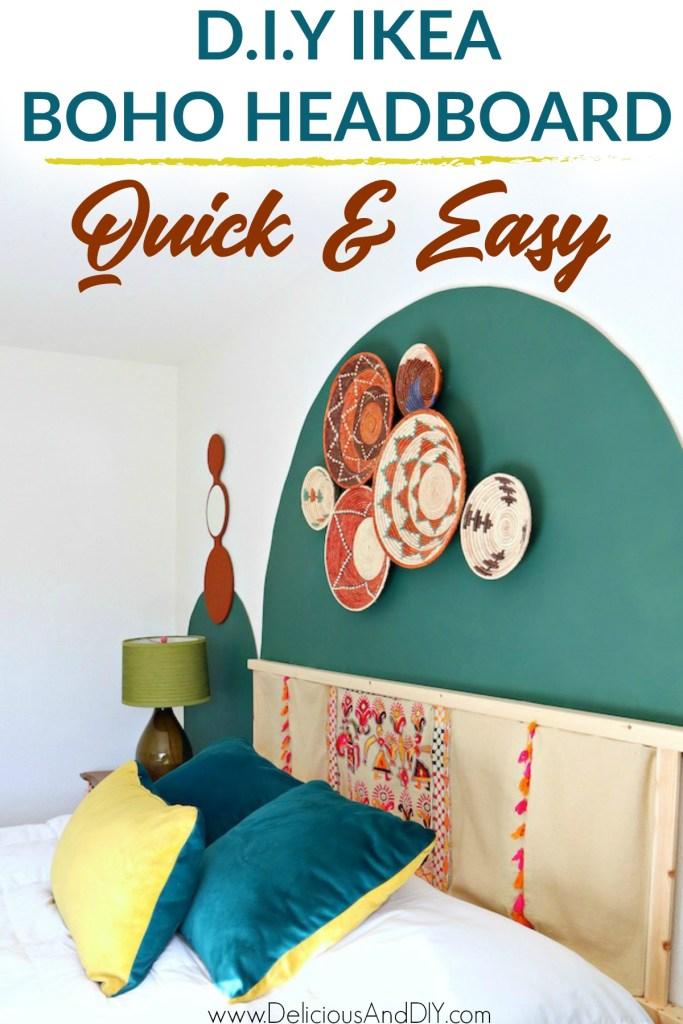 Ikea Ivar Headboard with Boho Chic Design