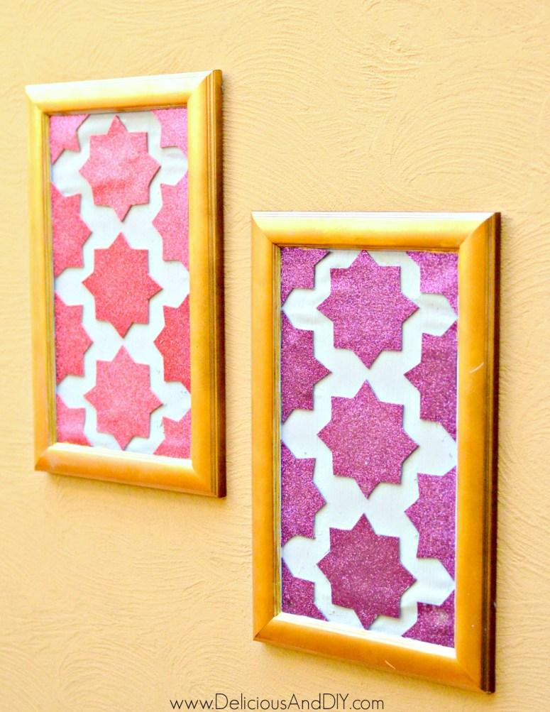 diy moroccan wall arts