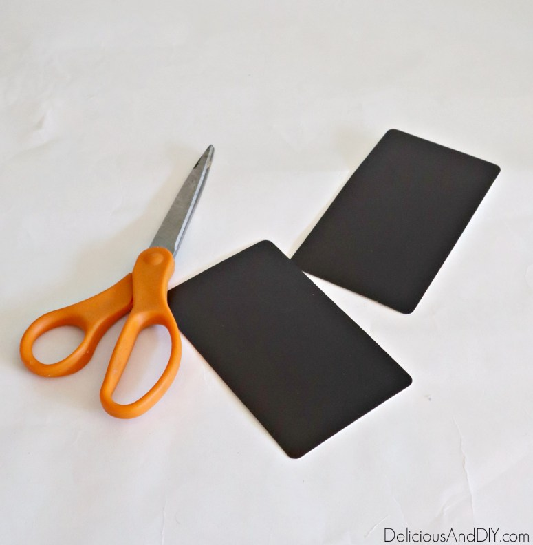 magnet sheets and scissors
