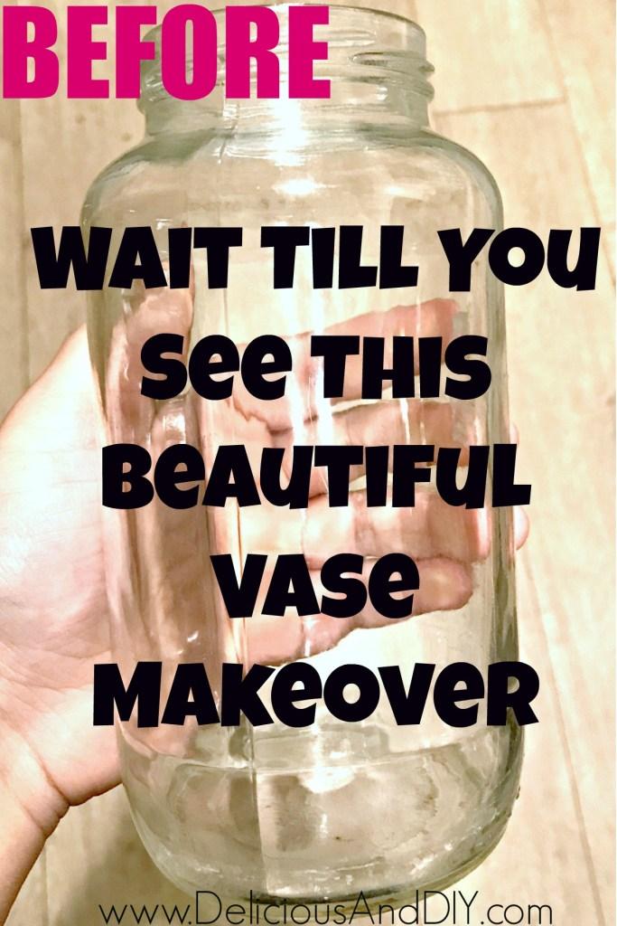 empty bottle makeover
