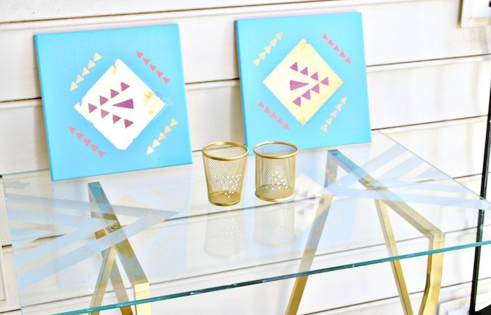 How To – DIY Etched Glass Table Top