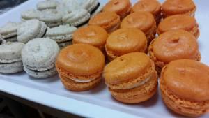 espresso Pumpkin macaron