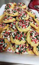 Italian cookies greece ny sprinkles hand made