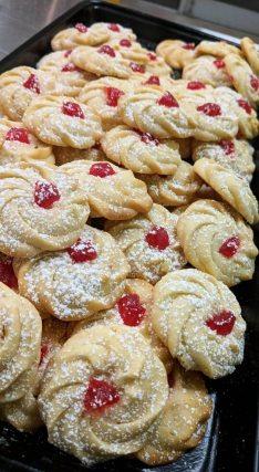 cherry Italian cookies