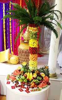 Delicious Fruits  Fountains  Fruit Palm Trees and Fruits