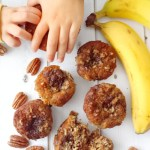 Paleo Banana, Pecan & Chocolate Chips Muffins