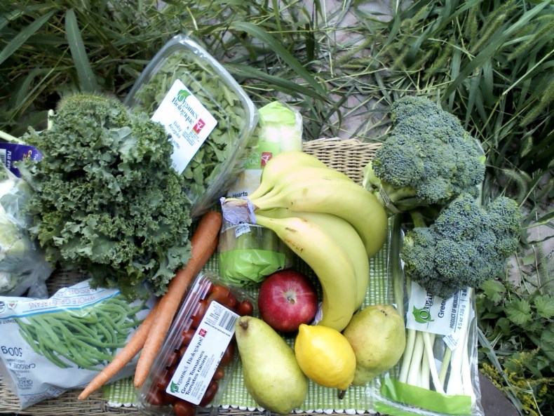 Healthy Back on Track Groceries