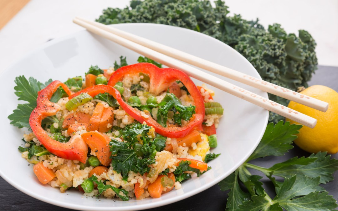 Healthy Millet Vegetable Stir-Fry
