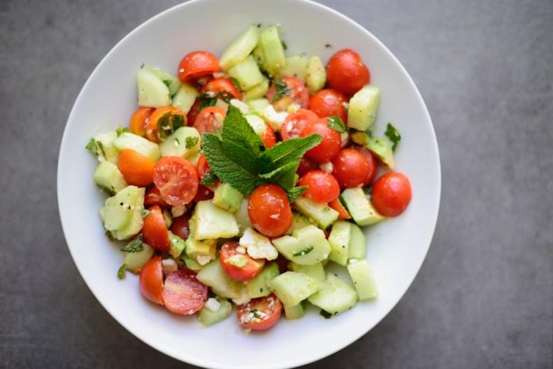 The Easiest Summer Salad