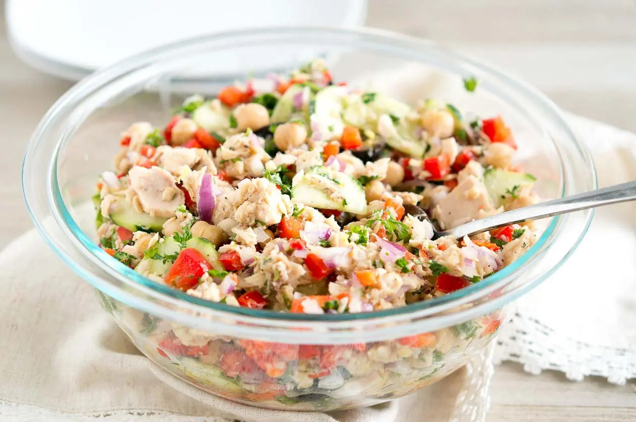Mediterranean Tuna Salad  Delicious Meets Healthy