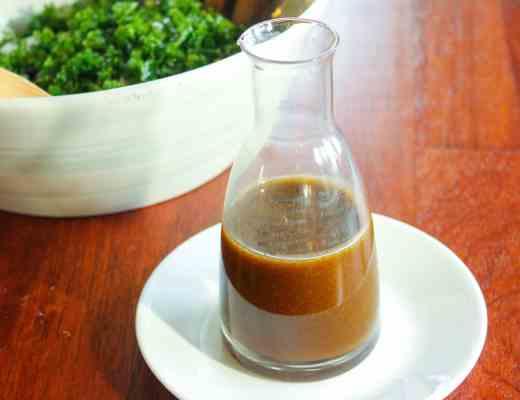 Maple Balsamic Vinaigrette - simple and so tasty!