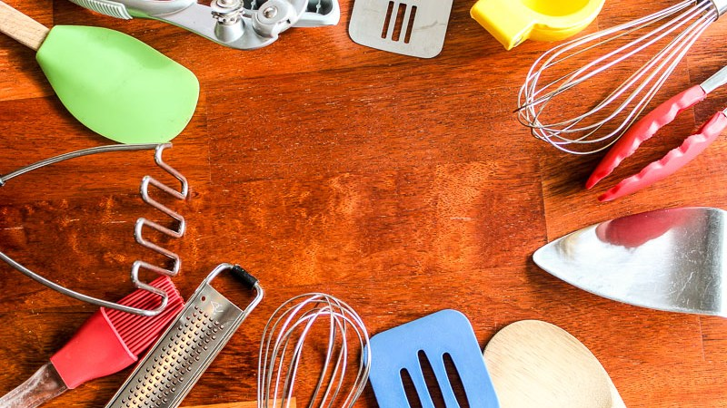 Kitchen Utensils - Landscape