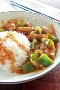 Sweet and Sour Pork Stir. These five $5 meals for fall are perfect for anyone who wants to save money on groceries! Whip up these cozy, hearty meals and warm up your fall, without spending your whole grocery budget!