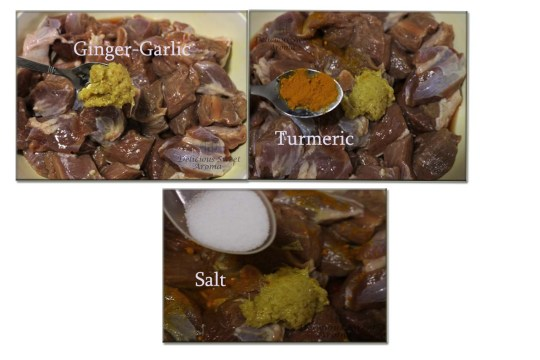 marinating mutton before cooking