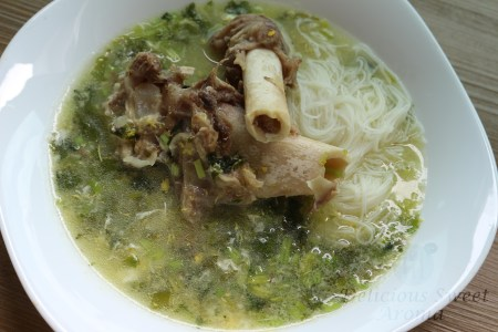 Soup of Mutton | Delicious Sweet Aroma