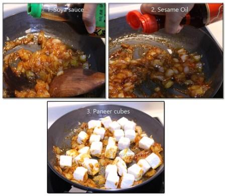 paneer & sauce