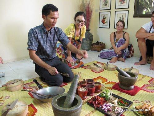 Silom Thai Kochschule: Höllisch scharfes Date