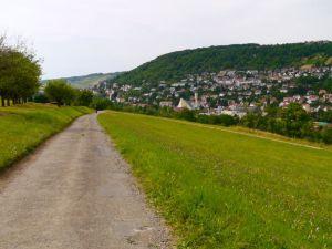 Letztes Stück der ersten Tagesetappe: von Künsbach nach Künzelsau
