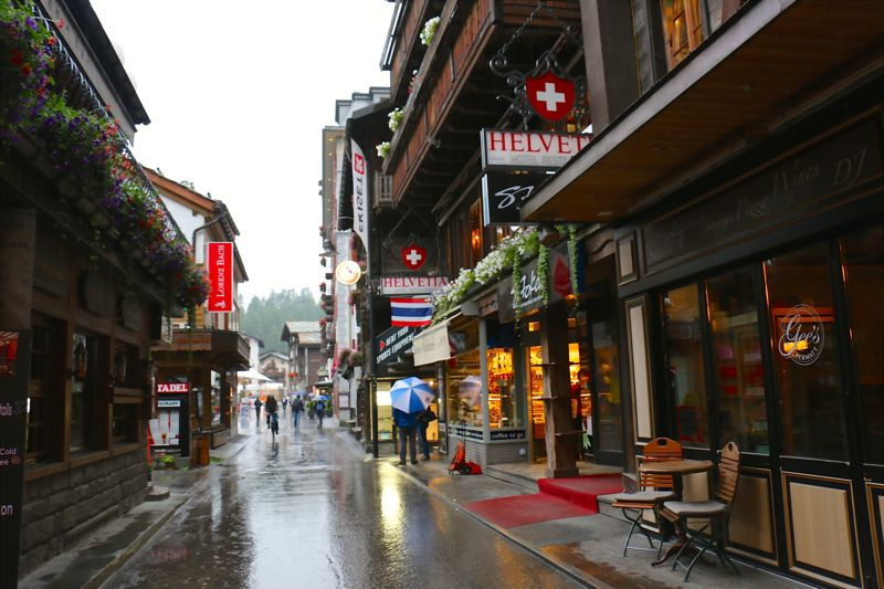 Zermatt Bahnhofstraße