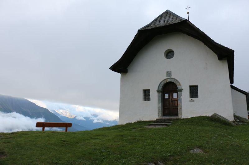 Kapelle Maria im Schnee auf der Bettmeralp