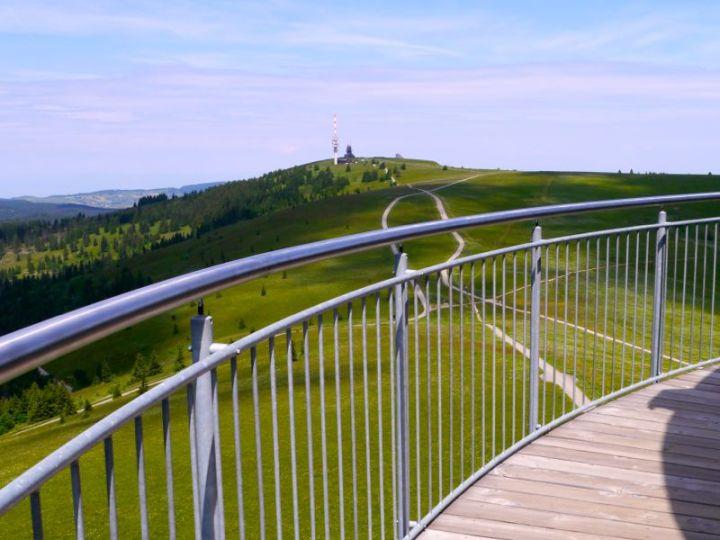 Aussicht vom Feldbergturm