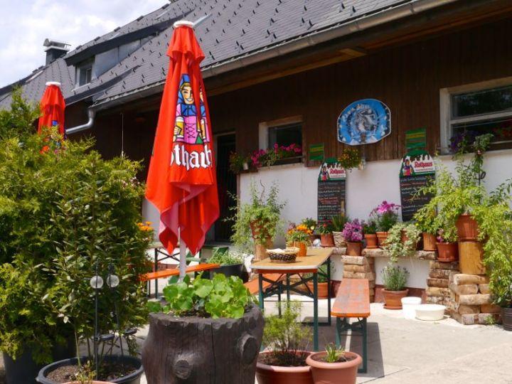 Menzenschwander Hütte auf der Feldberg Passhöhe