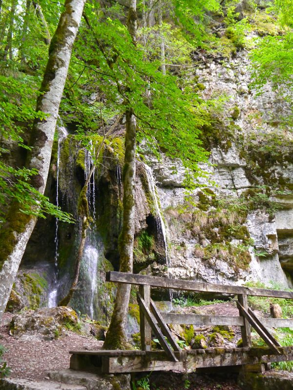Wasserfall kurz vor Bad Boll