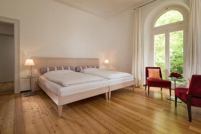 Zimmer in der Villa Silvana