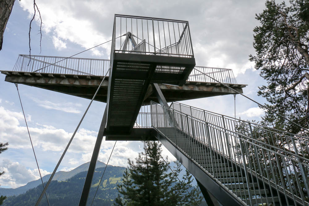 Aussichtsplattform Spiri Rheinschlucht