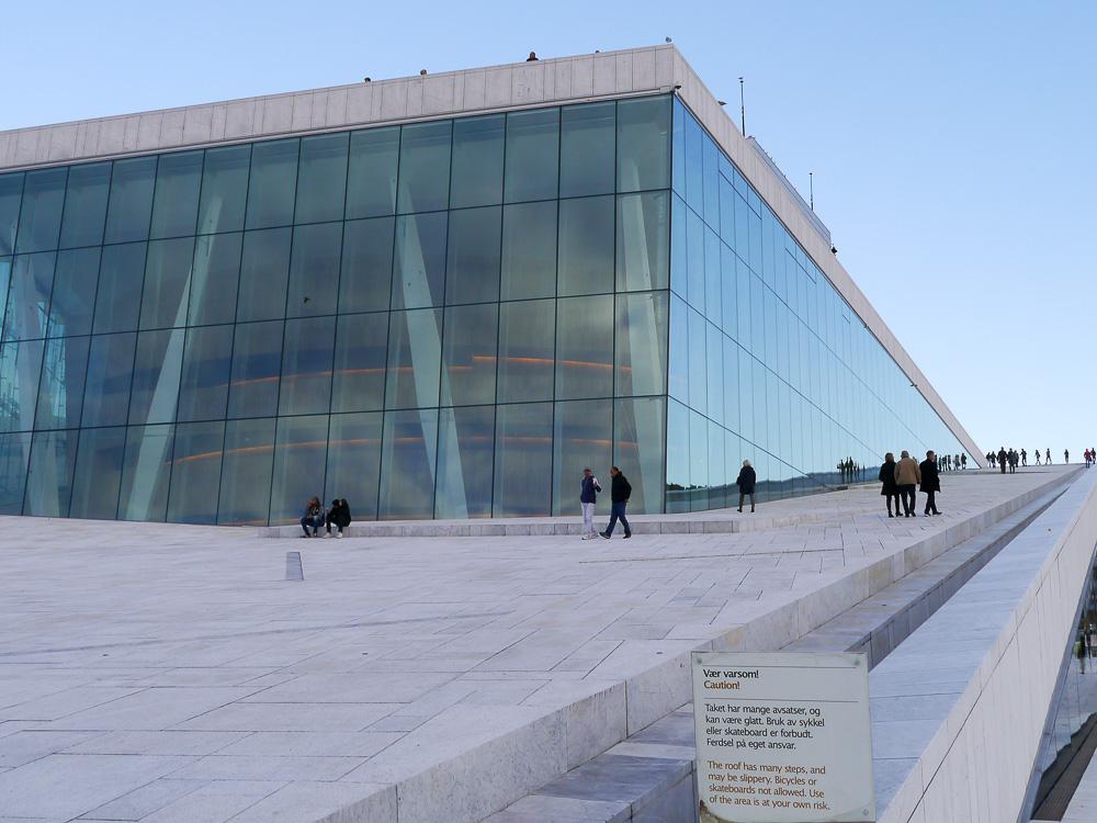 Oslos Eisberg am Hafen