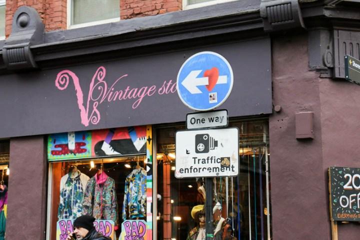 Vintage Shop auf der Brick Lane