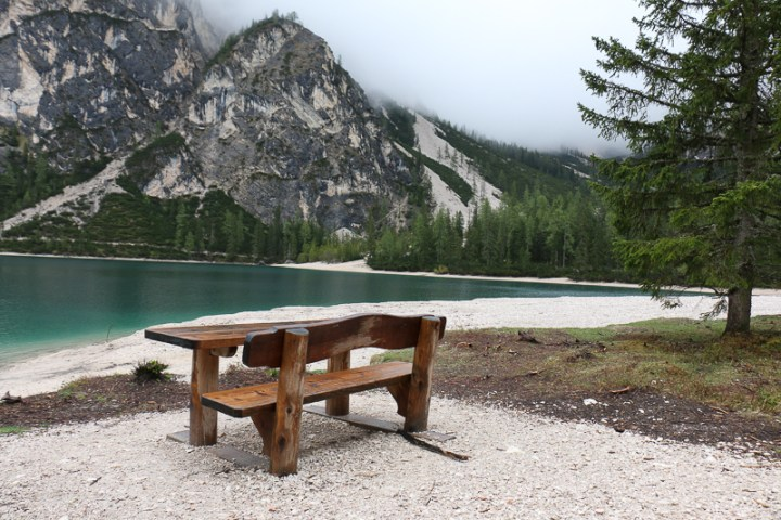 Ratplatz am Pragser Wildsee