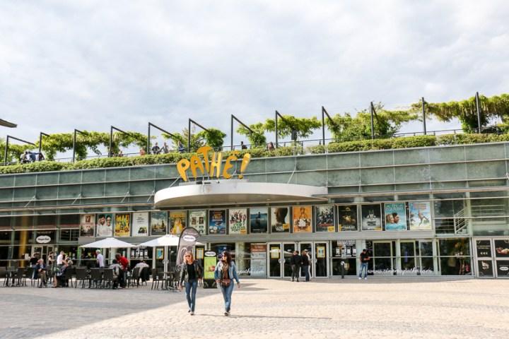 Kino mit Dachgarten