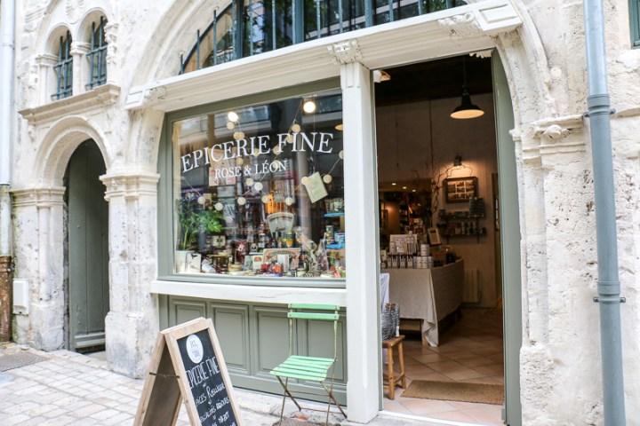 Feinkostladen Orléans, Frankreich