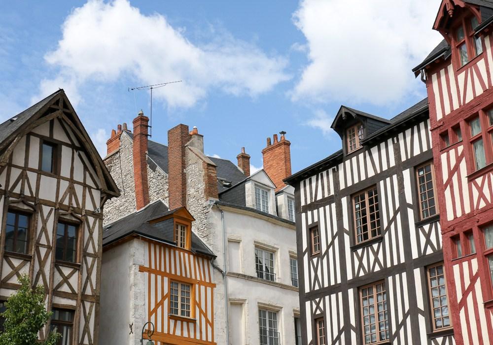 Orléans – erst mal in die Karte schauen