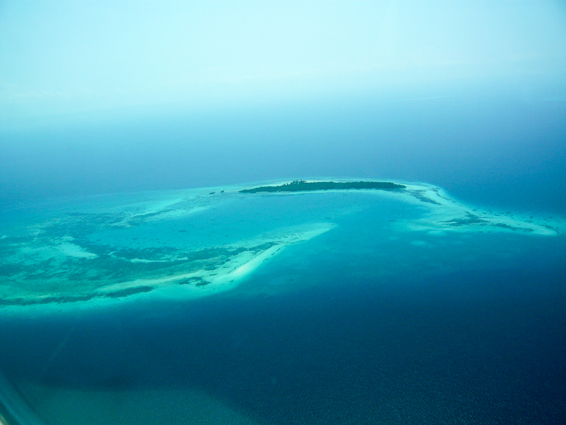 Anflug auf Sansibar