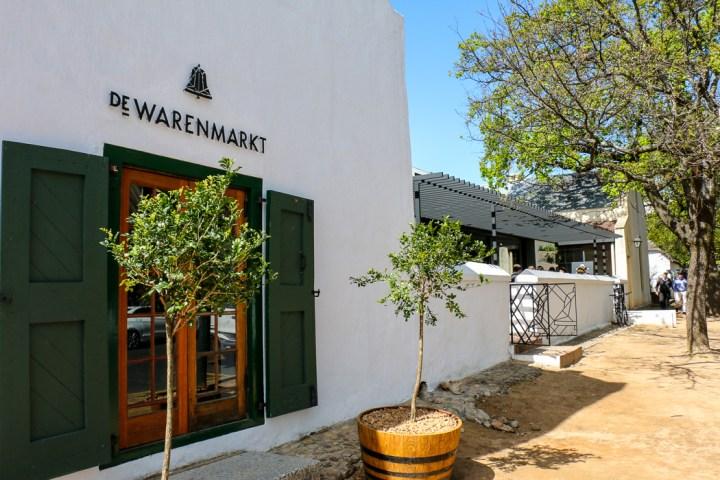 de Warenmarkt, Stellenbosch