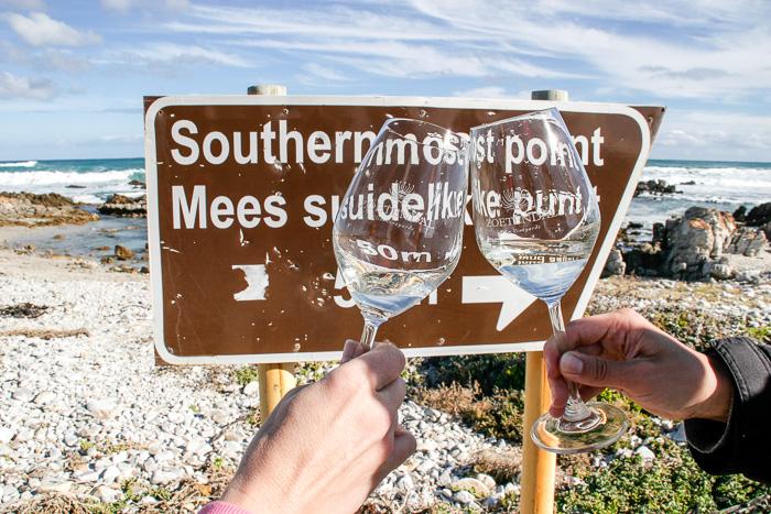Der südlichste Punkt Afrikas: Kap Agulhas