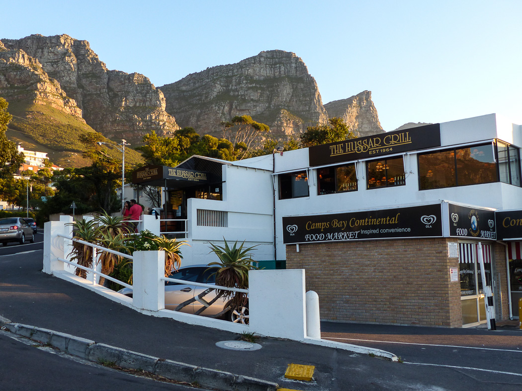 Hussar Grill in Camps Bay, Cape Town