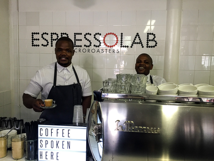 espressolab, bisquit mill, cape town
