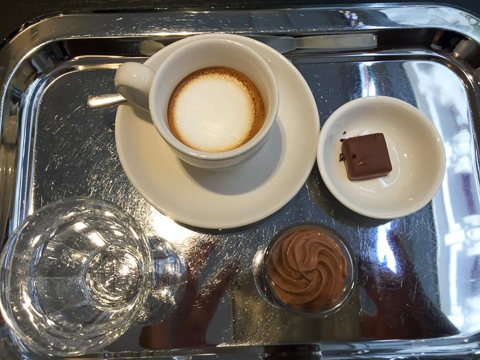 Espresso Macchiato bei Hop & Stork