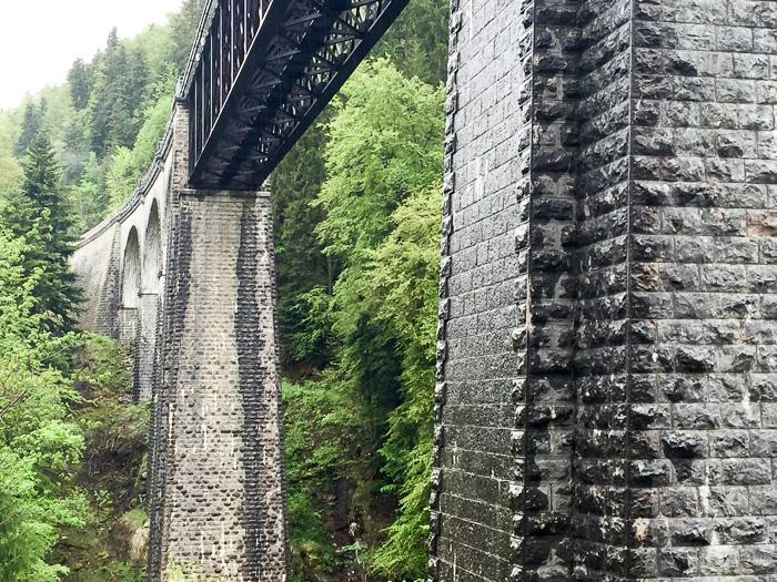 Viadukt im Haut-Jura