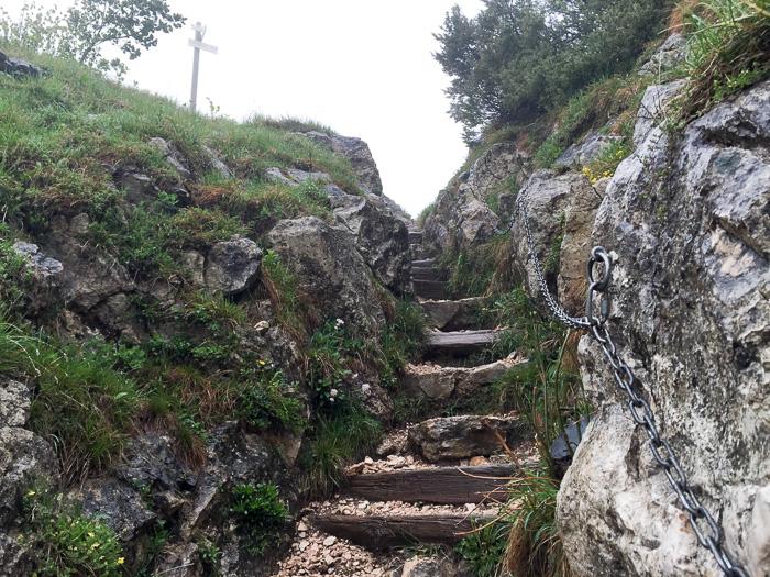 Aufstieg zum Pic d'Aigle
