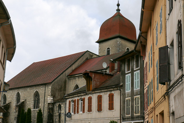 Dorf im Haut-Jura