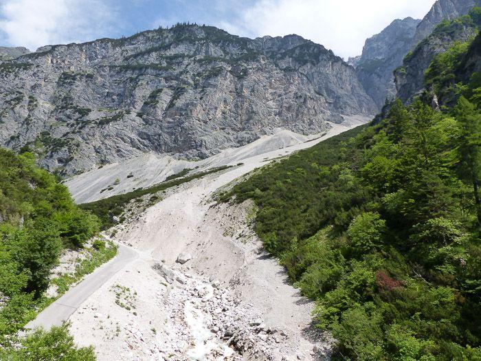 Bettelwurfmassiv im Karwendel