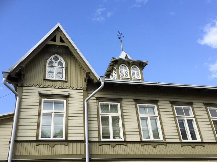 Holzhaus in Kalamaja