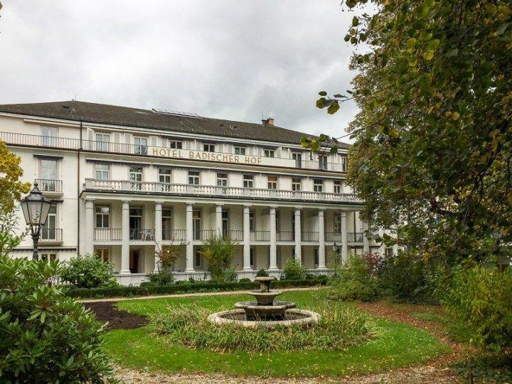 Radisson Blu Badischer Hof Hotel in Baden-Baden