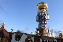 Hundertwassertum in der Kuchlbaur-Bierwelt